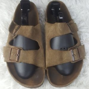 Birkenstock Betula Arizona Suede Sandals Sz 43 /10